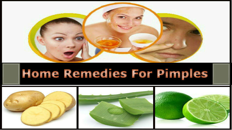 home ingredients for pimples