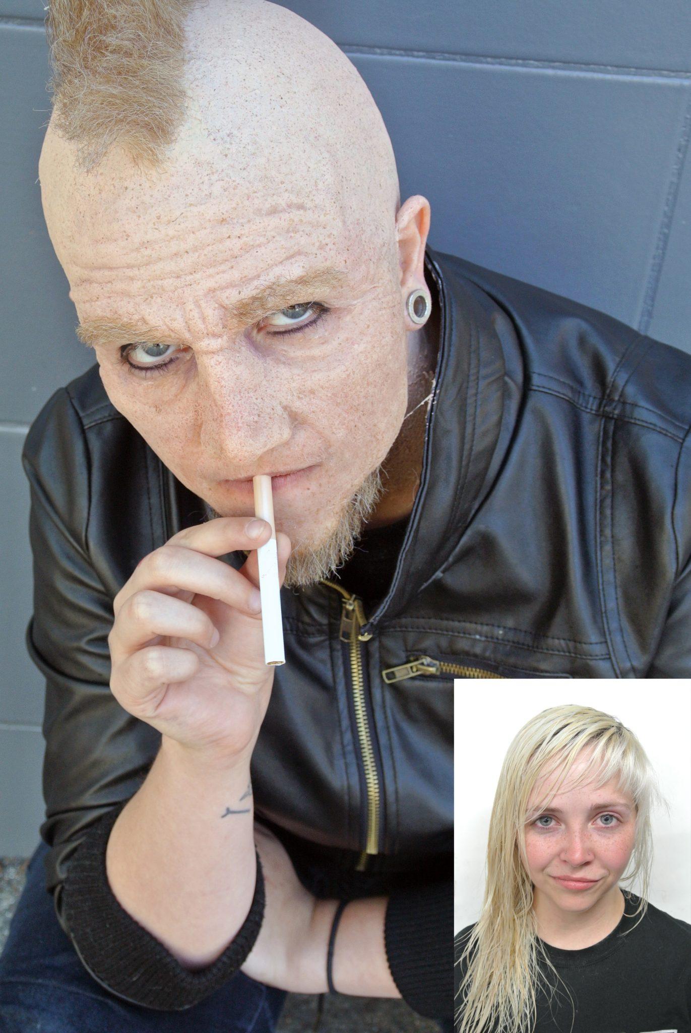 Makeup for Wrinkled Face
